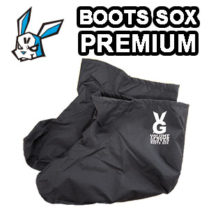 VOLUME PREMIUM BOOTS SOX BLACK