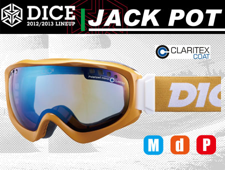 DICE JACKPOT MUSTARD PASTEL BLUE MIRROR DROP POLA ANTI-FOG DOUBLE LENS GRAY BASE