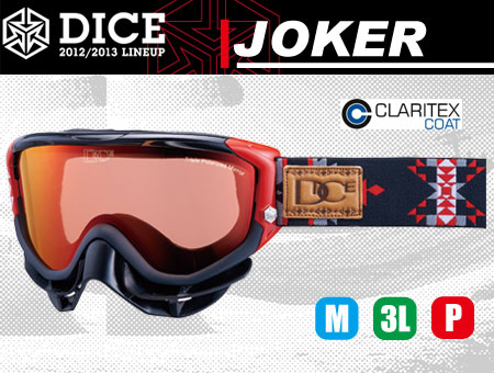 DICE JOKER BLACK TRIPLE PINK POLA SHADOW MIRROR
