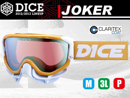 DICE JOKER MUSTARD TRIPLE PINK POLA SHADOW MIRROR