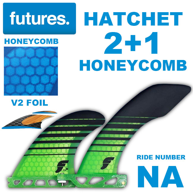 FUTURES フィン HATCHET 6.0 V2 F4 SIDE 2+1