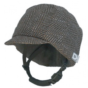 HELTPRO VISOR BROWN