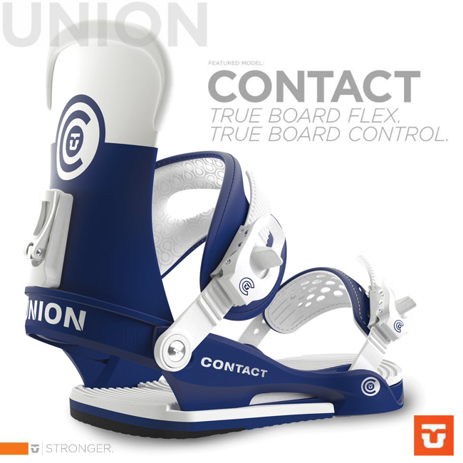 UNION BINDING CONTACT BLUE WHITE