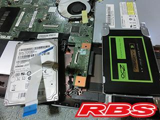 SSD ハードディスク 換装