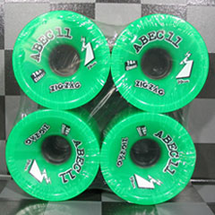 ABEC11 ウィール ZIGZAGS GREEN 70mm 78a